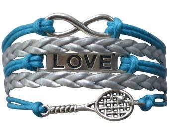 Tennis Gift -Tennis Bracelet, Tennis Bracelet –Tennis Gift - Tennis - Perfect for Tennis Players, Tennis Coaches & Tennis Team Gifts