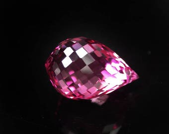 9.8 ctw. pink topaz pendant loose gemstone.