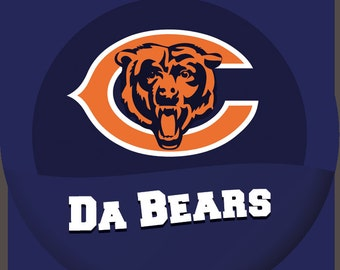 Chicago Bears Fan Buttons