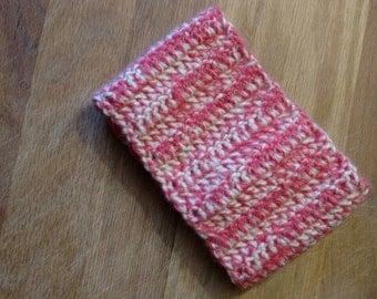 Pink/Cream headband