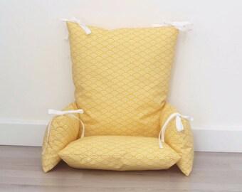 Child high chair cushion