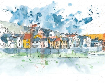 Staithes Harbour, North Yorkshire