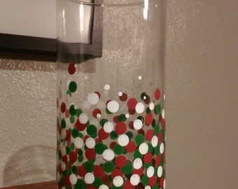 Christmas Vase