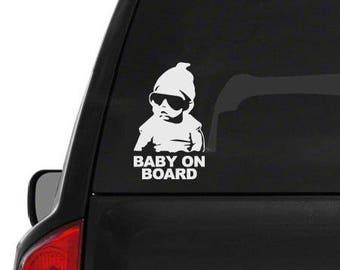 Baby On Board - Decal Window Sticker - Hangover - Carlos - Funny Truck Car Window Decal