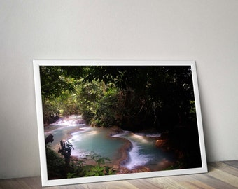 Original Photgraph of a waterfall in laos digital download
