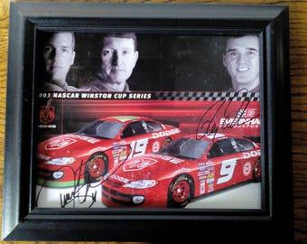 NASCAR Driver Autograph - Ray Evernham & Jeremy Mayfield