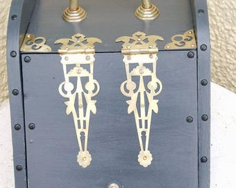 Upcycled Victorian Coal Scuttle
