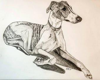 Custom Pet portrait, pet portrait custom, custom dog portrait,memorial pet portrait, custom pet print, pet portrait,