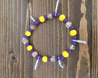 Beaded Spring Bracelet
