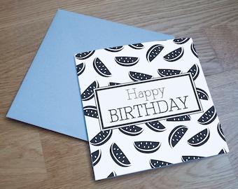5pk Mix & Match Eco Friendly Birthday Cards