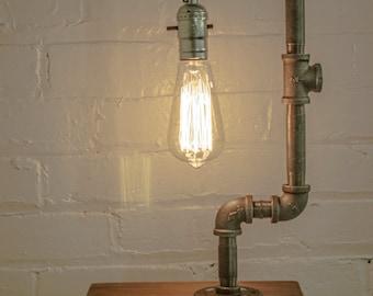 Industrial Pipe Edison Bulb Lamp