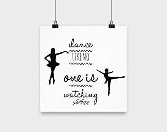 Dance Like No One is Watching Poster