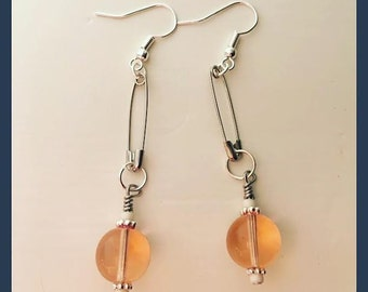 Pink Charm Earrings
