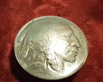 US Indian Head Nickel Button Cover 1913-1938