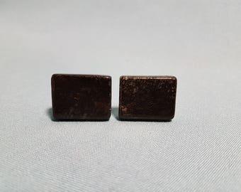 Vintage Black Granite? Cuff links