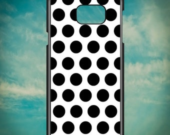 Simple Black and White Dots for Samsung Galaxy Note 3, Samsung Galaxy Note 4, Samsung Galaxy Note 5, Electronic Phone Case