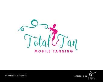 Tanning shop logo