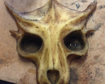 latex decorative skull mask