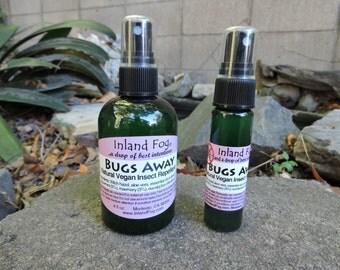 Bugs Away Natural Vegan Bug Spray