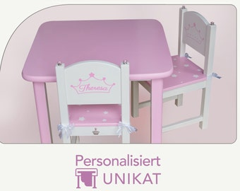 CHILD TABLE CROWN