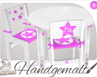 CHILD TABLE STAR
