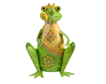 Decorative Frog with Balloons