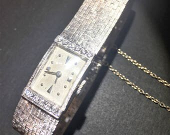 14kt White Gold Lady's Concord Watch