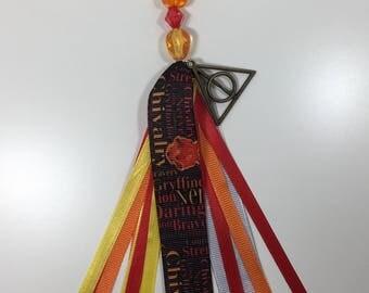 Harry Potter Inspired Gryffindor Tassel