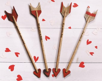 Personalised Cupid's arrow
