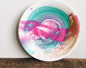 Small Splash Painted Dish