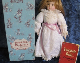 RUSS Berrie & Co. Fairytale Dolls - Cinderella Style No. 1704