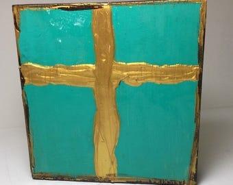 Cross Decor, Cross Art, Cross Painting