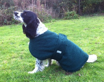 Reversible Towelling  dog drying coat