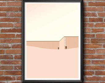 50 x 70 poster graphic design poster illustration ArchiDune architecture