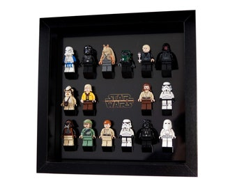 starwars black acrylic insert to hold lego minifigures