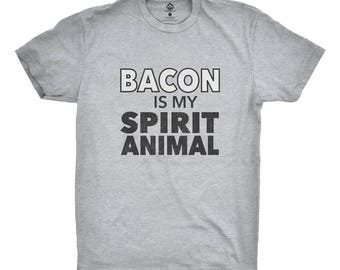 Bacon Is My Spirit Animal T-Shirt for Bacon Lovers