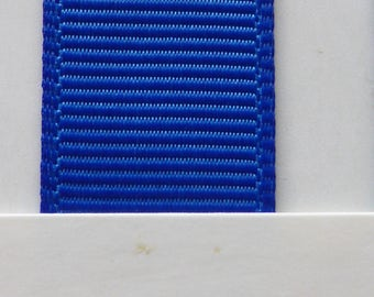 "1""/ 26mm Grosgrain Ribbon in Electric Blue #352 x 2 meters"