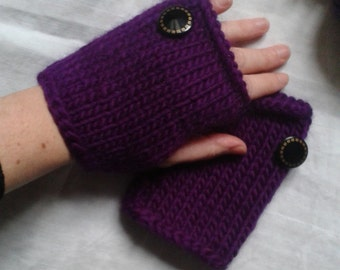 Purple Rain mitts