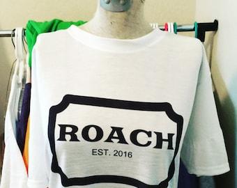 Roach V Neck Tee Shirt