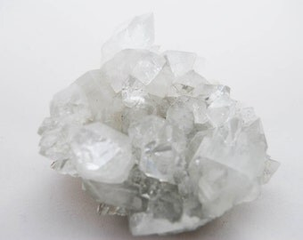Clear Apophyllite Cluster
