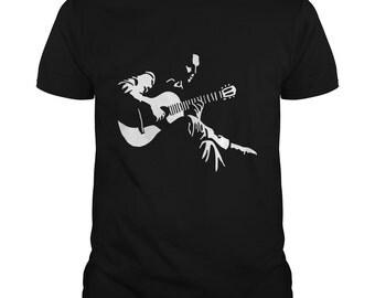Guitar Shirt - Acoustic Guitarist T Shirt - Guitar T-shirt - Guitarists Gift - Guitarist Tees - Guitar Players - 5 Color - S-5XL - Cotton