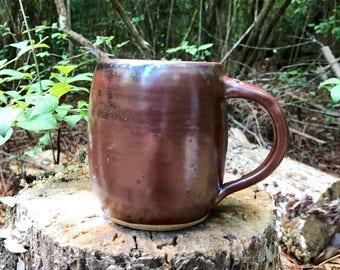 Copper Handmade Ceramic Mug
