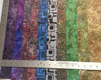Cool #1 Fat Quarters