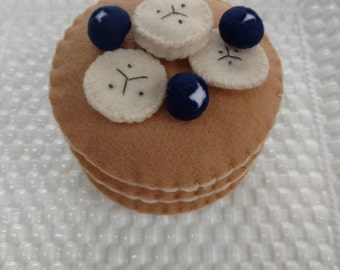 Interactive Felt Food Pancake Set