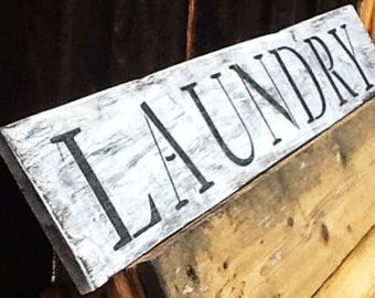 laundry sign, rustic wood sign, reclaimed wood laundry sign, repurposed wood sign, rustic laundry sign, Rustic wall art, wood laundry sign