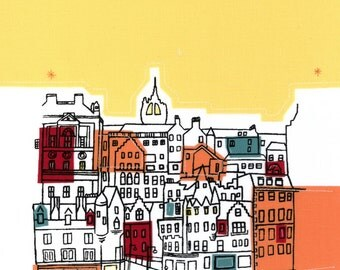 Edinburgh bright skies