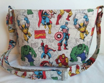 Marvel Comics zippered Crossbody/Shoulder bag