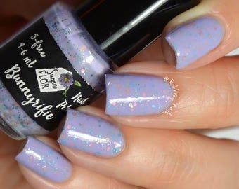 Bunnyrific - nail lacquer / polish / glitter crelly