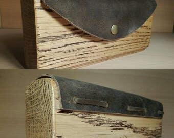 oak wooden bag