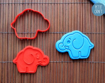 Cute Elephant Cookie Cutter, Cake and Fondant Decorate